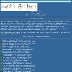 Hatch's Plot Bank