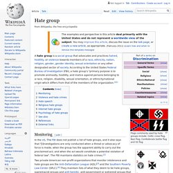 Hate group