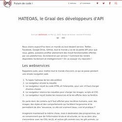 HATEOAS, le Graal des développeurs d'API