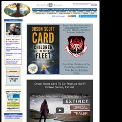 Hatrack River - The Official Web Site of Orson Scott Card