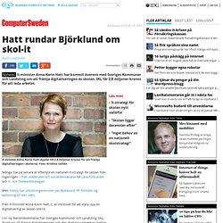Hatt rundar Björklund om skol-it