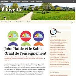 John Hattie et le Saint Graal de l'enseignement