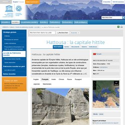 Hattousa : la capitale hittite