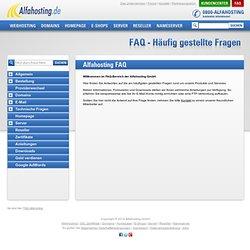Alfahosting.de® • Kundencenter