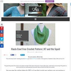 Haula Cowl Free Crochet Pattern