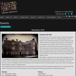 Haunted Heritage Midlands