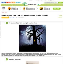 13 most haunted places of India