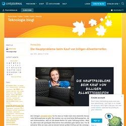 Die Hauptprobleme beim Kauf von billigen Allwetterreifen - Teknologia blogi — LiveJournal