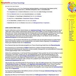 Hauptseite zum Thema Tauschringe