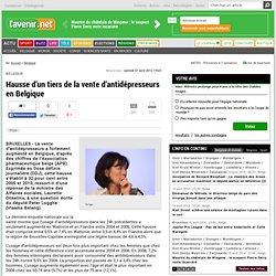 Hausse d'un tiers de la vente d'antidépresseurs en Belgique