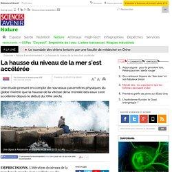 La hausse du niveau de la mer s'est accélérée - 12 mai 2015