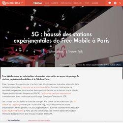 5G : hausse des stations expérimentales de Free Mobile à Paris