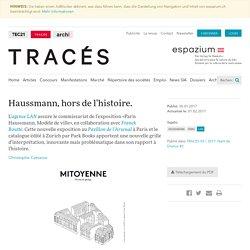 Paris Haussmann, modèle de ville - TRACES - espazium.ch