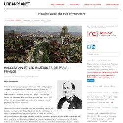 Haussmann et les immeubles de Paris