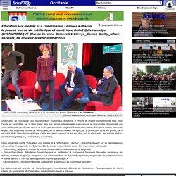 Éducation aux médias et à l'information : donner à chacun le pouvoir sur sa vie médiatique et numérique @nitot @divinameigs @HGNUMERIQUE @HauteGaronne @sicoval31 @Freya_Games @willy_lafran @Qwant_FR @SavoirDevenir @Smartrezo - Vidéo Smartrezo Occitanie