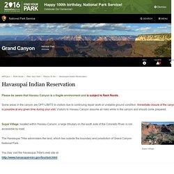 Havasupai Indian Reservation - Grand Canyon National Park (U.S. National Park Service)