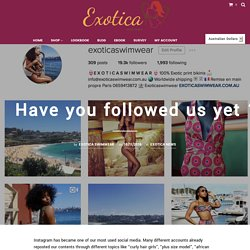Have you followed us yet ? :D – Exotica Swimwear