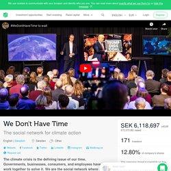 No tenemos tiempo recauda 6.118.697 coronas suecas a través de FundedByMe