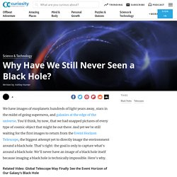 Why Have We Still Never Seen a Black Hole?