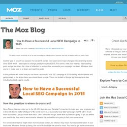 How to Have a Successful Local SEO Campaign in 2015