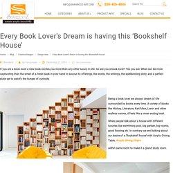 All Book Lover's Dream Is Having This 'Bookshelf House'