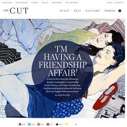 'I'm Having a Friendship Affair'