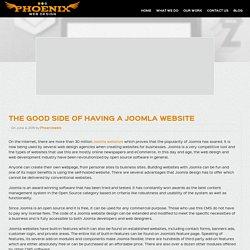 Good Side of Having a Joomla Website