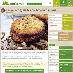 Havreflarn (galettes de flocons d'avoine) au Thermomix - Cookomix