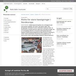 Risiko for store havstigninger i Nordeuropa – Niels Bohr Institutet - Københavns Universitet