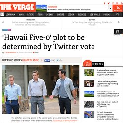 'Hawaii Five-0' plot to be determined by Twitter vote