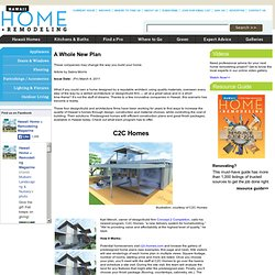 hawaii home+REMODELING: A Whole New Plan