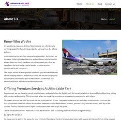 To Book Cheap Flights, Contact at Hawaiian Airlines Reservations Number