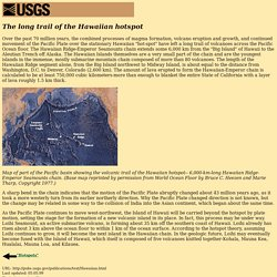 Hawaiian hotspot [This Dynamic Earth, USGS]