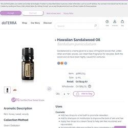 Hawaiian Sandalwood Oil