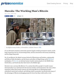 Hawala: The Working Man's Bitcoin