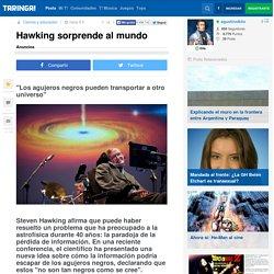 Hawking sorprende al mundo - Taringa!