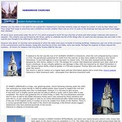 Hawksmoor Churches