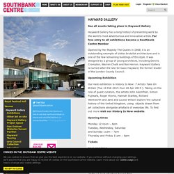 Hayward Gallery | Southbank Centre.