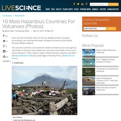 10 Most Hazardous Countries For Volcanoes (Photos)