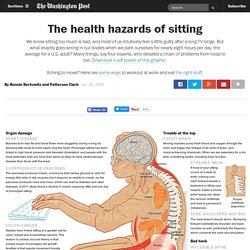The health hazards of sitting