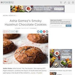 Asha Gomez's Smoky Hazelnut Chocolate Cookies from My Two Souths