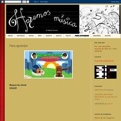 Hazemos Música: Para aprender