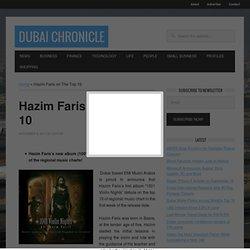 Hazim Faris on The Top 10