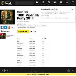 Hazim Faris - 1001 Violin Nights Party 2011