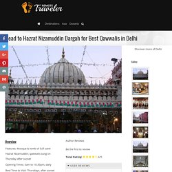 Head to Hazrat Nizamuddin Dargah for Best Qawwalis in Delhi