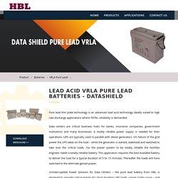 hblbatteries- LEAD ACID VRLA PURE LEAD BATTERIES - DATASHIELD