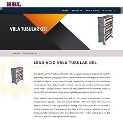 hblbatteries- LEAD ACID VRLA TUBULAR GEL