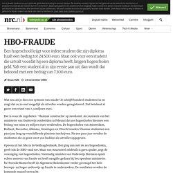 HBO-FRAUDE - NRC