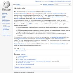 Hbo-fraude 2001