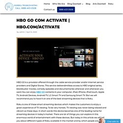 HBO GO Com Activate